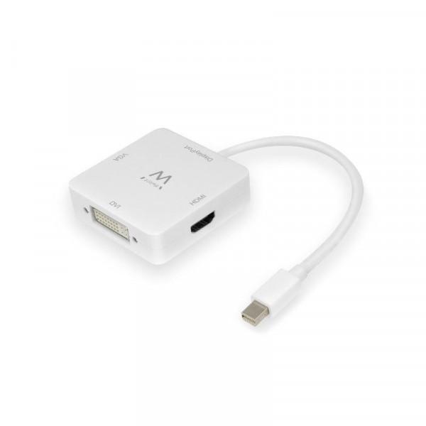 Mini DisplayPort naar HDMI, DVI en VGA kabel