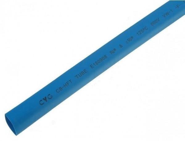 Krimpkous Blauw 1,6mm - 0,8mm 1 meter
