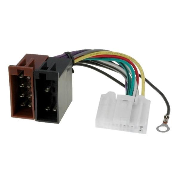 ISO kabel voor voor fabrieksradio's Nissan, Opel, Renault en Subaru