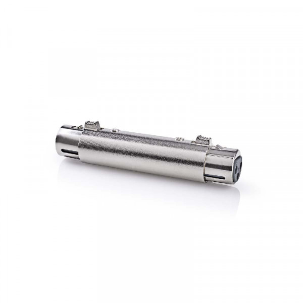 XLR 3-pin Koppelstuk - XLR (v) - XLR (v) - Metaal