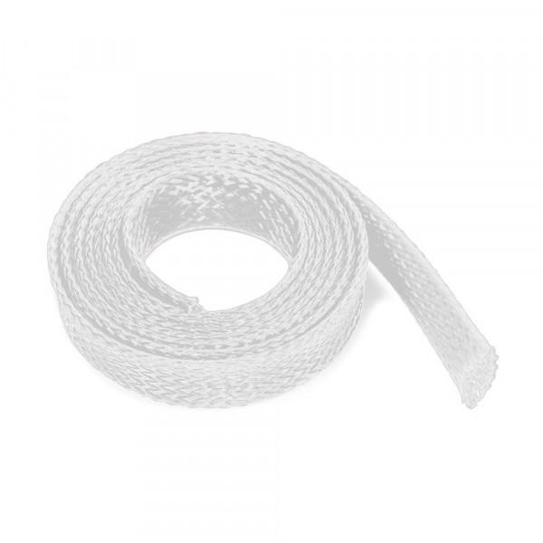 Witte flexibele 6-8mm kabelsleeve 10m