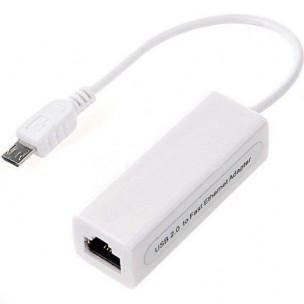 Micro USB naar RJ45 OTG Ethernet adapter