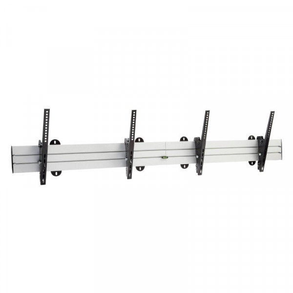 Muurbeugel 37-70 inch 45kg Zwart voor Videowall 2 schermen