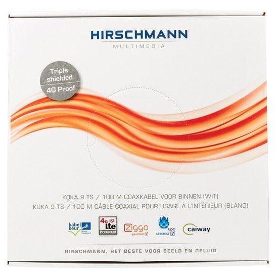 Hirschmann 4G KOKA 9 TS kabel 100m wit