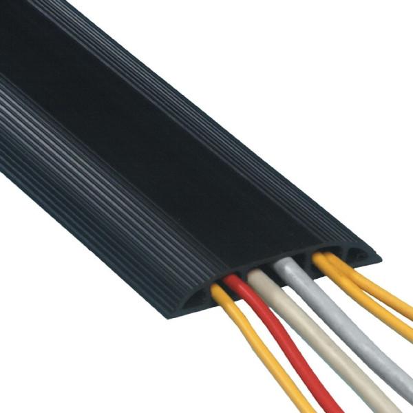 DATAFLEX PVC Vloergoot Zwart 1,5m