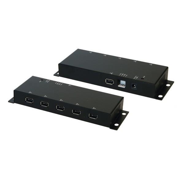 Exsys EX-6683 FireWire 400 Hub 6-poorts
