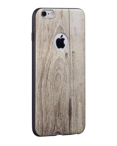 Hoco TPU case voor iPhone 6/6S Iepenhout
