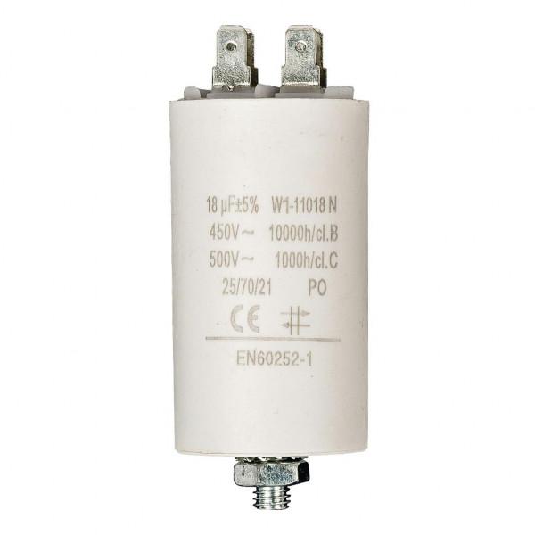 Condensator 18,0uf / 450 v + aarde