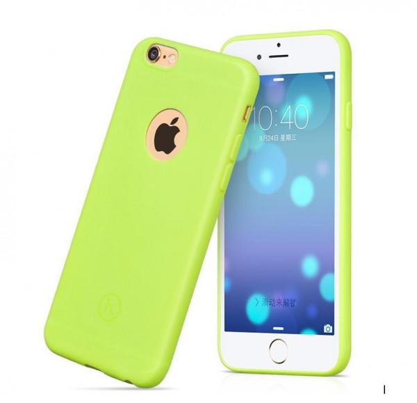 Hoco Juice series TPU backcover voor iPhone 6 Plus/6S Plus Groen