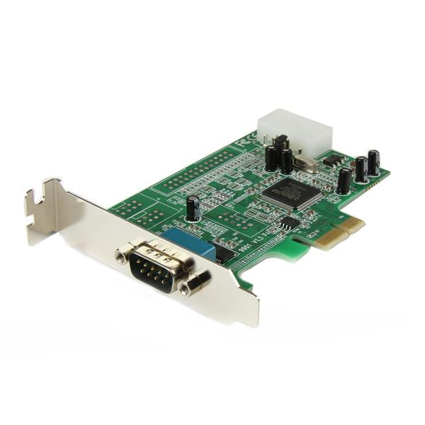StarTech 1-poort Low Profile Native RS232 PCI Express Seriële Kaart met 16550 UART