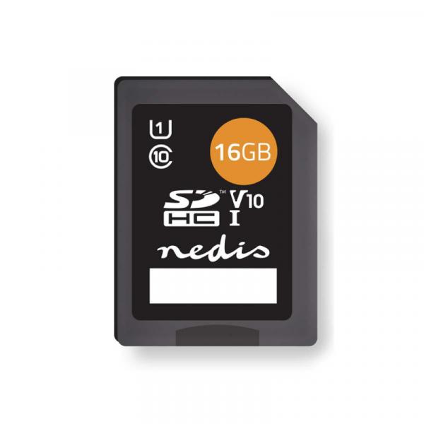 SDHC kaart 16 GB (class 10)