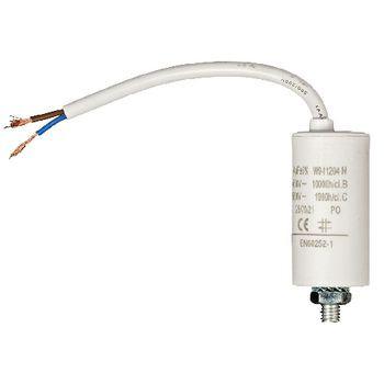 Condensator 4.0uf / 450 V + cable