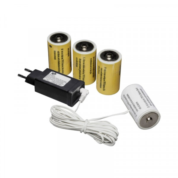 230V naar 4x D Adapter voor batterijartikelen