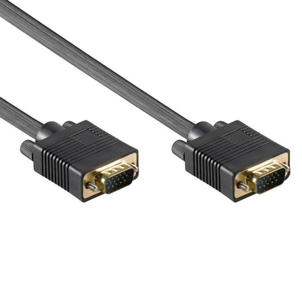 15-pins VGA Monitor aansluitkabel 0,8m