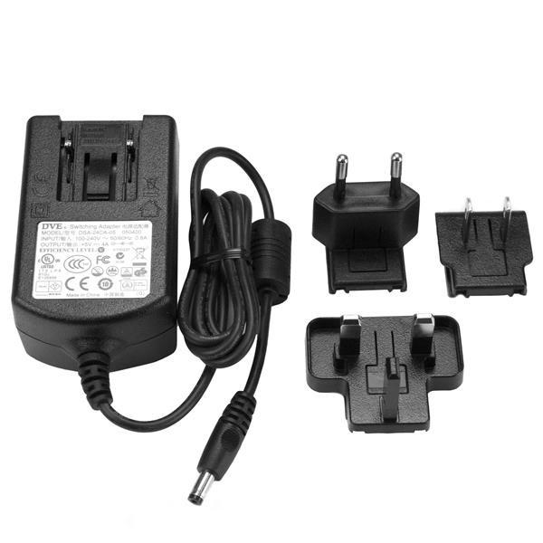 StarTech DC power adapter - 5V, 4A - voedingsadapter