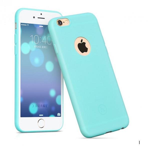 Hoco Juice series TPU backcover voor iPhone 6 Plus/6S Plus Blauw