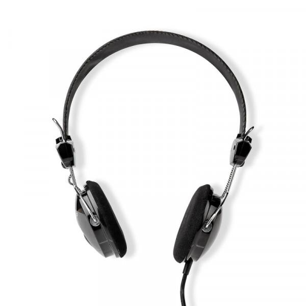 Stereo Hoofdtelefoon - 1x 3,5mm Jack - 1,1 meter - Zwart