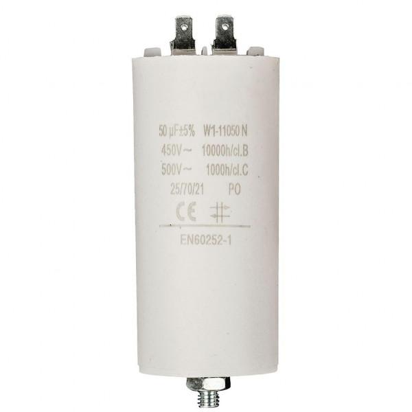 Condensator 50,0uf / 450 v + aarde