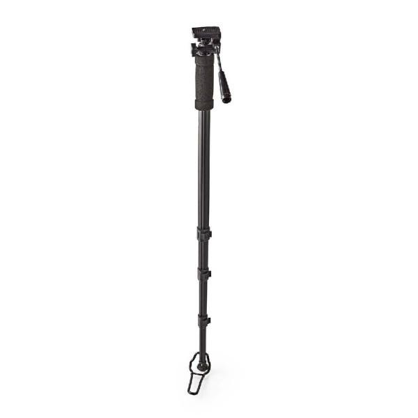 Monopod voor Foto- en Videocamera 178cm Zwart