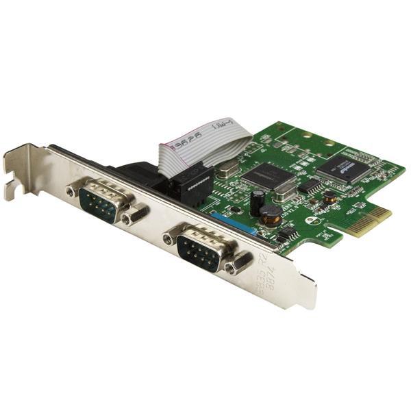StarTech 2 poorts PCI Express seriële kaart met 16C1050 UART - RS232