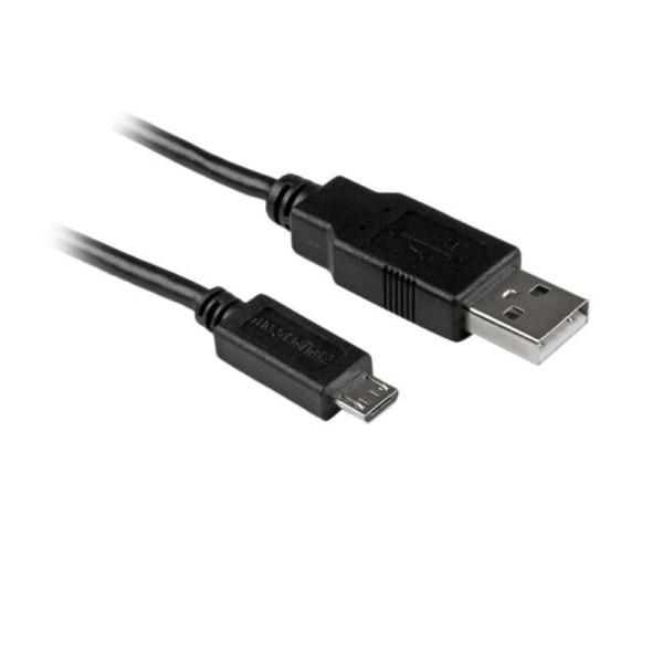 StarTech USB naar micro USB kabel 0,15m zwart