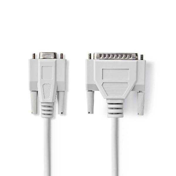 Seriële kabel 2m Ivoor