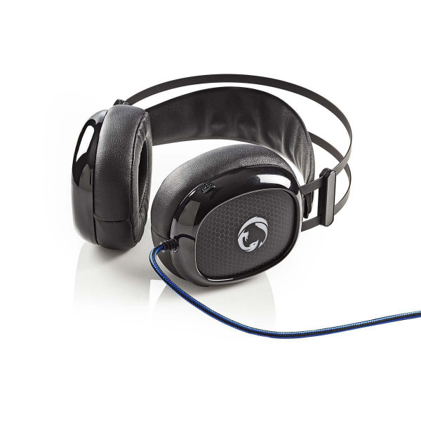 Ultra Bass over-ear Gamingheadset met Microfoon en LED-verlichting