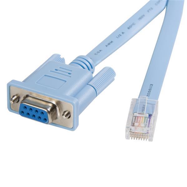 StarTech 1,8 m RJ45 naar DB9 Cisco consolebeheerrouterkabel - M/F