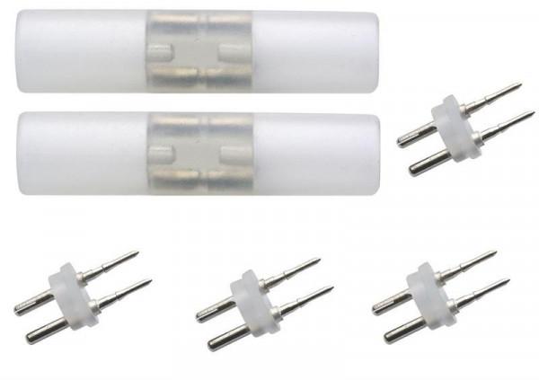 2x Verbindingsstuk voor Halotron & LEDtron lichtslang serie 13mm