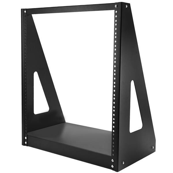 StarTech Heavy-duty rack met 2 stijlen - Stevig open-frame serverkast - 12U