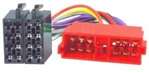 ISO kabel voor CITROEN/PEUGEOT (44.2x15.2mm)
