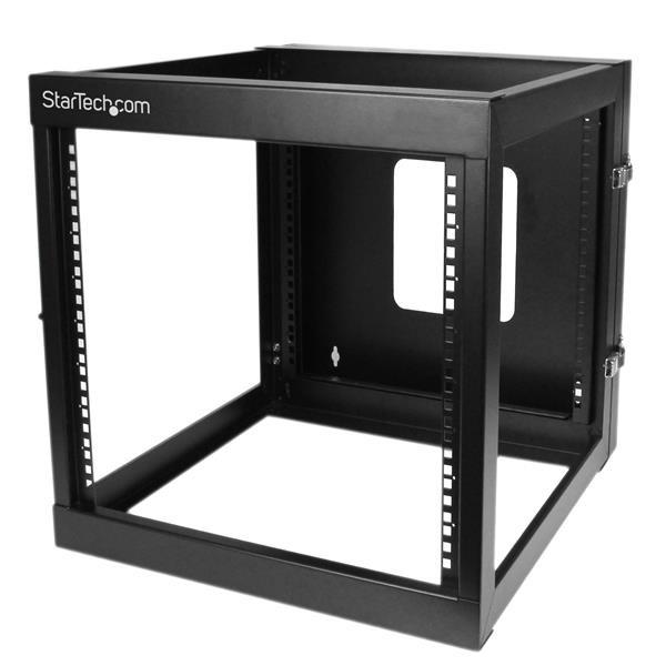 StarTech 12U 22inch Diep Scharnierend Open Frame Serverrack Wandmontage