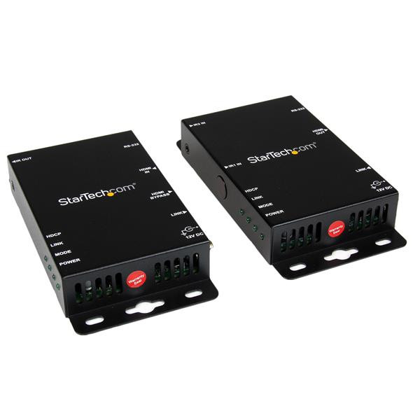 StarTech HDMI over CAT5 HDBase T Verlenger - RS232 - IR - Ultra HD 4K - 100m