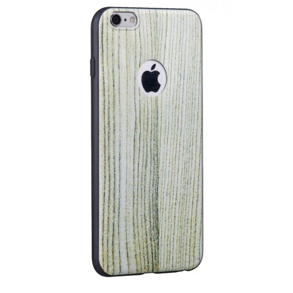 Hoco TPU case voor iPhone 6 Plus/6S Plus Witte Eik