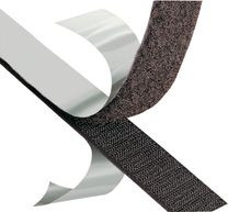 VELCRO® Brand Fasteners Klittenband (hardekant) zelfklevend 25m op rol Zwart