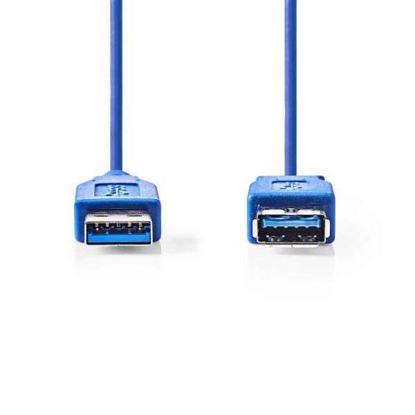 USB 3.0 A - A Verlengkabel 1m