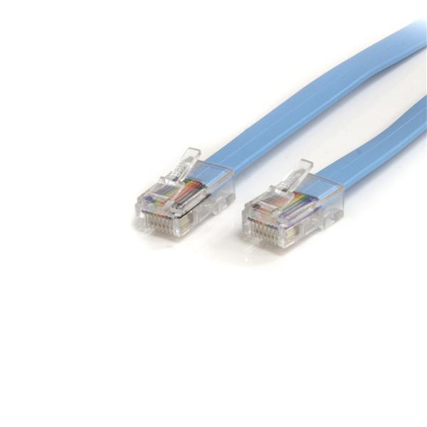 StarTech 1,80 m Cisco Console Rollover kabel- RJ45 M/M