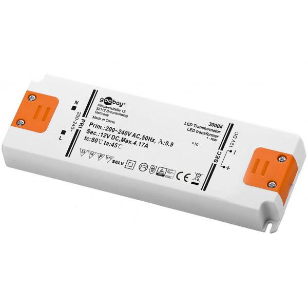 LED Transformator - 12 volt - 50 watt