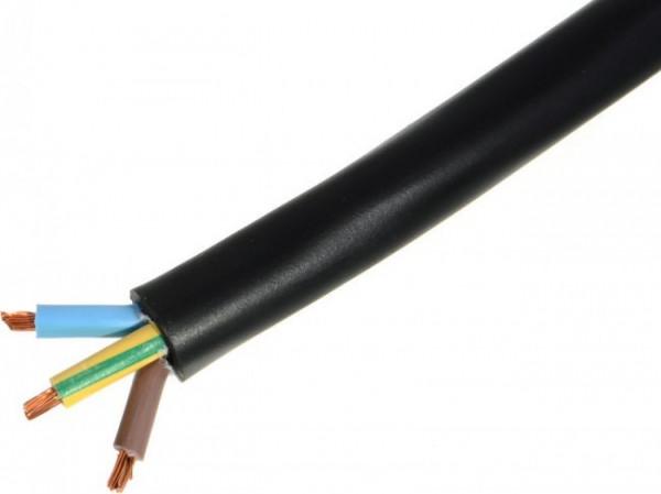 Neopreen kabel H07RN-F 3 x 2,5mm² per meter
