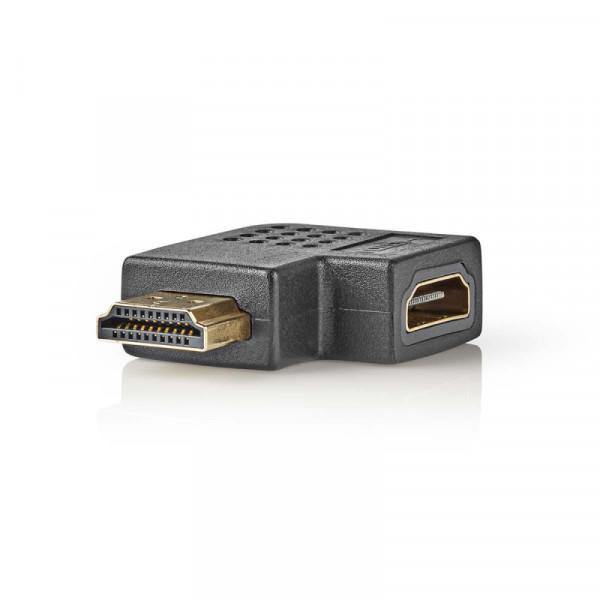 Haakse HDMI adapter Rechts gehoekt