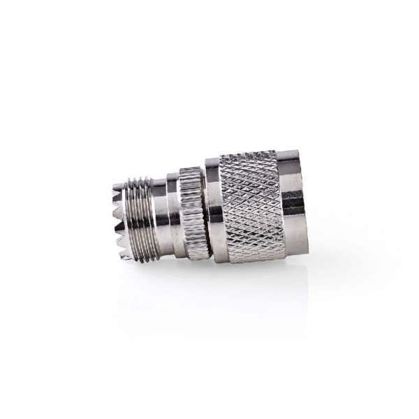 Antenne Adapter N Male - PL259 Female Zilver