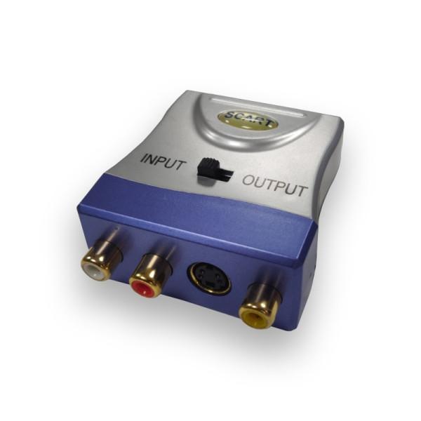 Scart naar 3x RCA Composiet Adapter