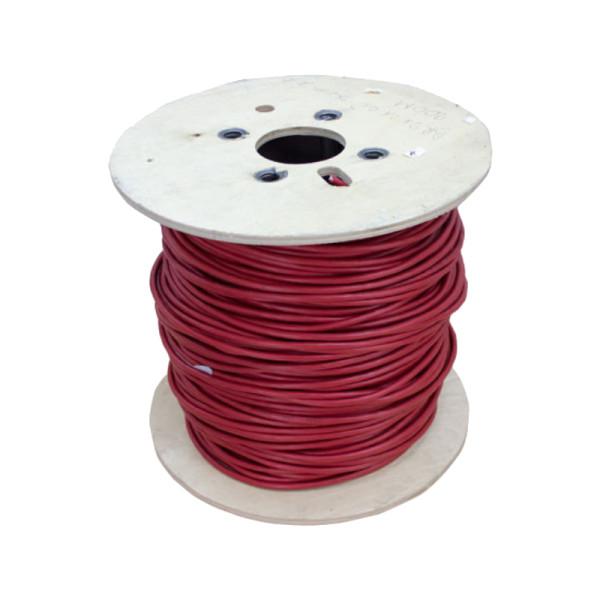 Voikabel YR-mb rood 4x 0,8 mm2 Brandmeldkabel / signaalkabel 500m