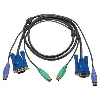 ATEN KVM Kabel VGA + PS/2 1,8m