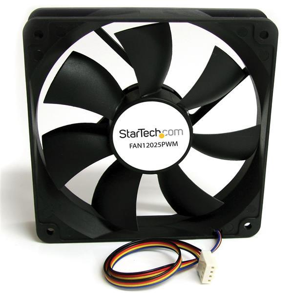 StarTech 120x25mm Ventilator Computerbehuizing met PWM – Pulse Width Modulation
