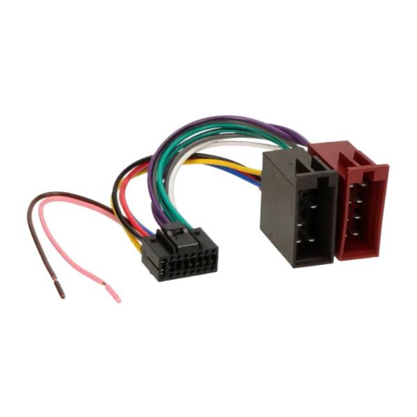 ISO kabel voor JVC (22 x 9,5mm) autoradio