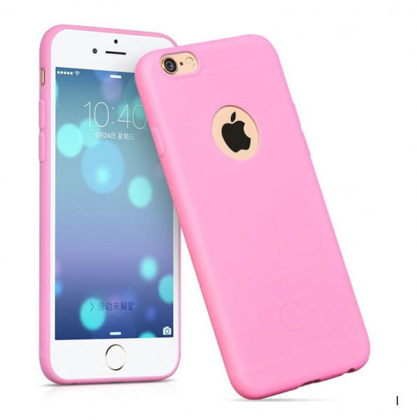 Hoco Juice series TPU backcover voor iPhone 6Plus/6S Plus Roze