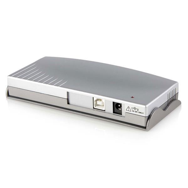 StarTech 8-poort USB naar RS232 Seriële DB9 Adapter Hub