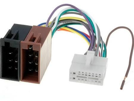 ISO kabel voor Clarion (25.5x10.5mm) autoradio