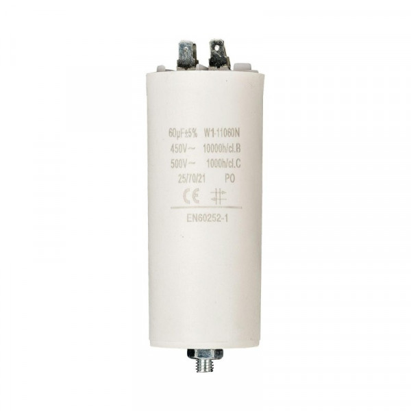 Condensator 60,0uf / 450 v + aarde